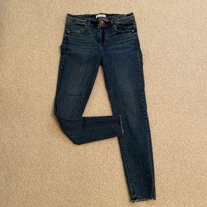 Loft size 4 jeans. Ankle cut